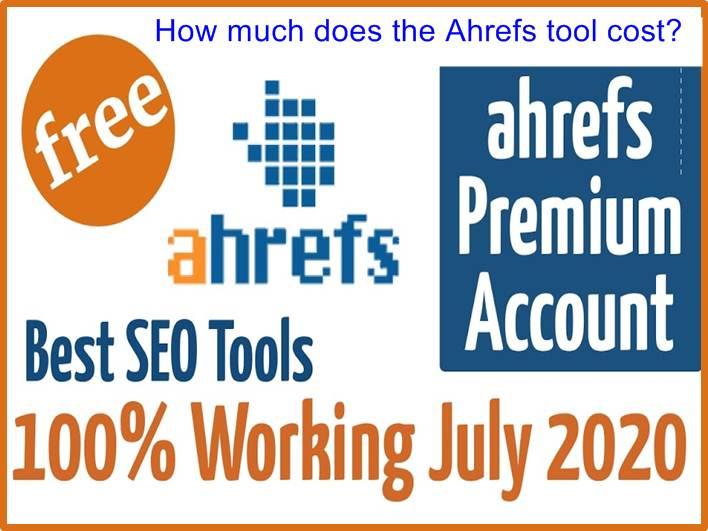 Ahrefs tool cost