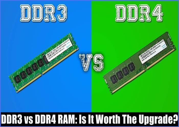 DDR3 vs DDR4 RAM
