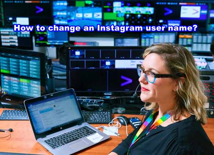 How to change an Instagram user name