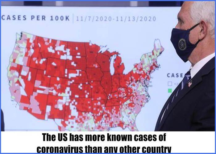 The US has more known cases of coronavirus than any other country