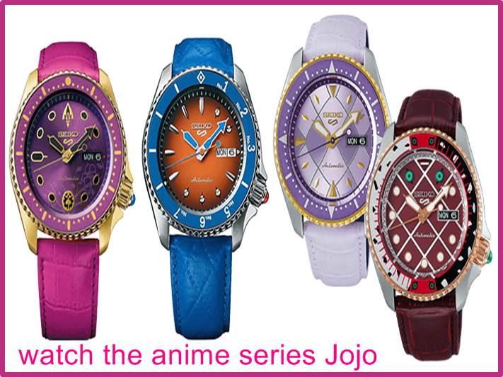 watch the anime series Jojo