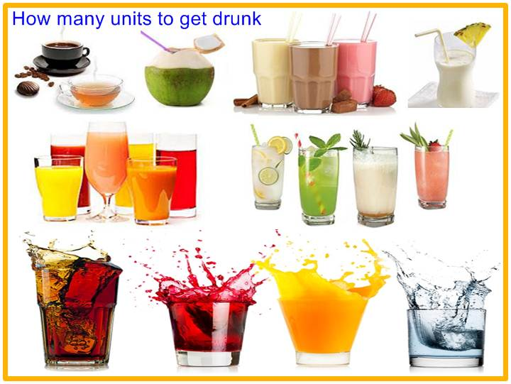 How many units to get drunk