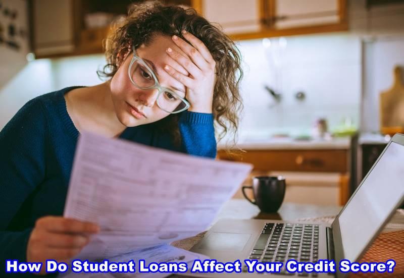 Do student loans affect credit scores?