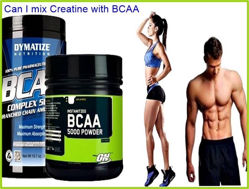 Can I mix Creatine with BCAA