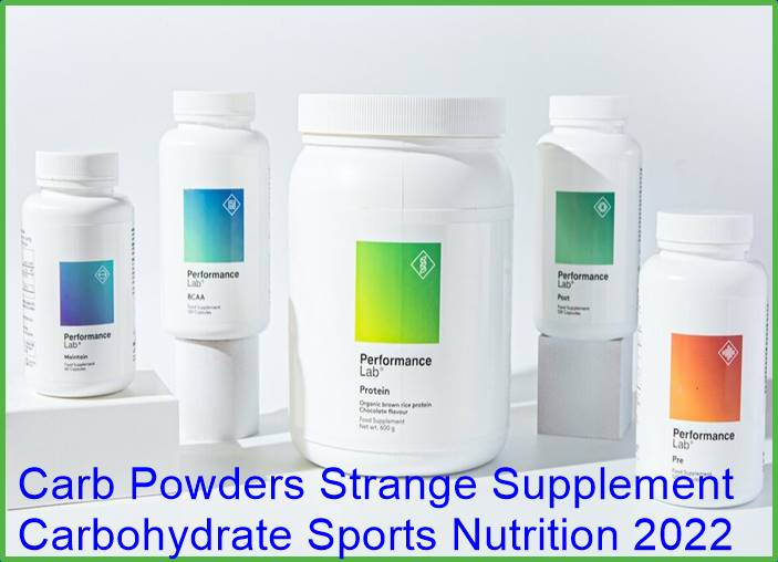 Carb Powder Strange Supplement Carbohydrate Sports Nutrition 2022