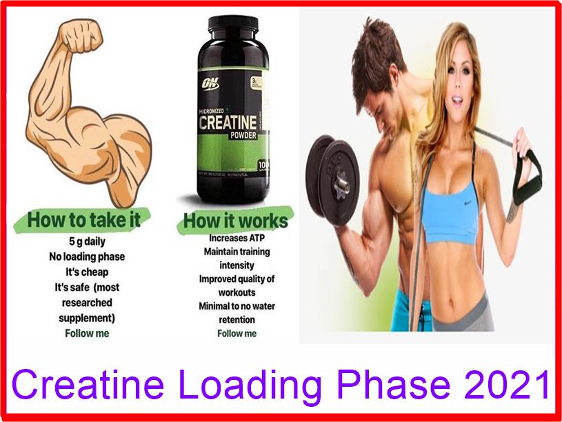 Creatine Loading Phase