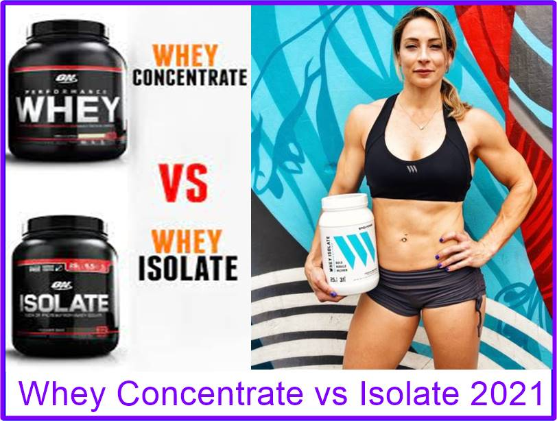 Whey Protein Isolate vs Concentrate A Complete Guide 2021