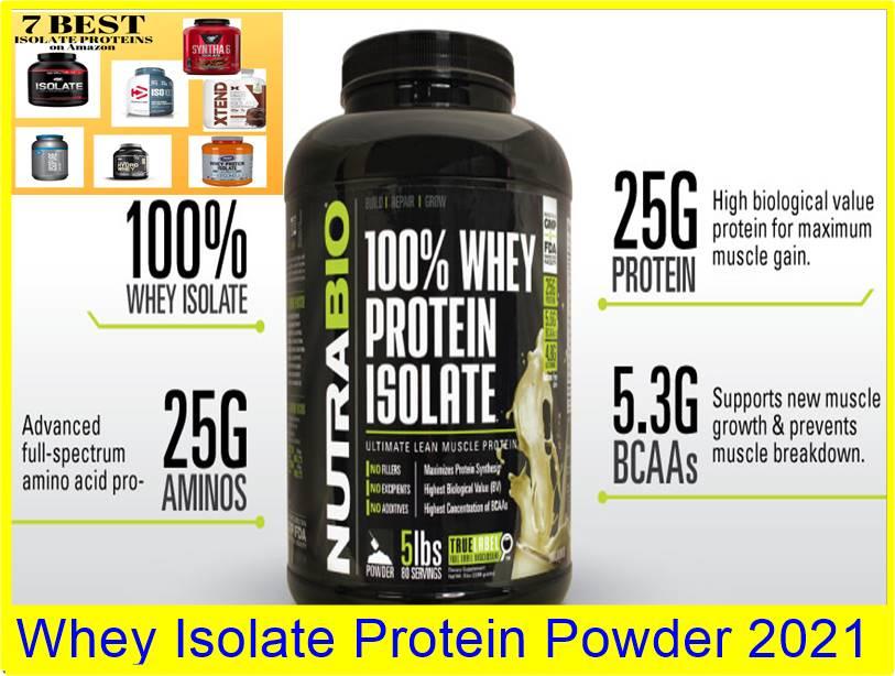 Whey Isolate Protein Powder