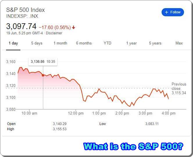 What is the S&P 500